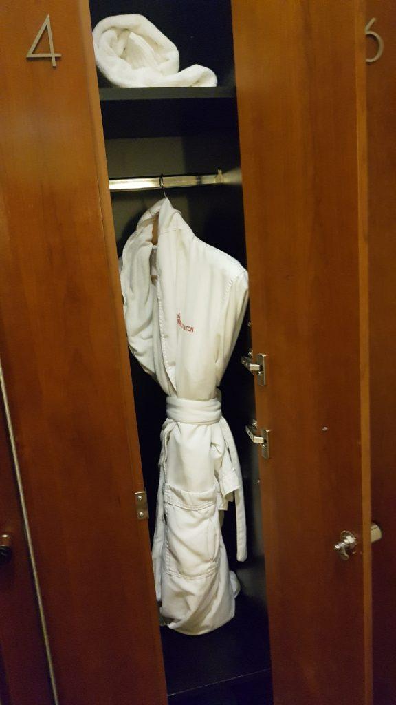 Beverly Hilton Spa Locker