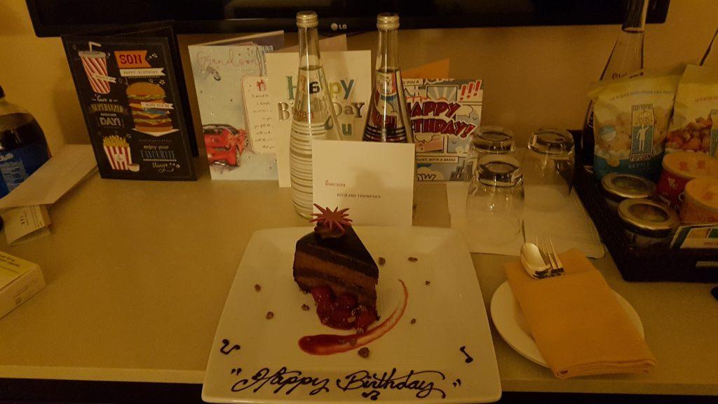 Beverly Hilton Cake