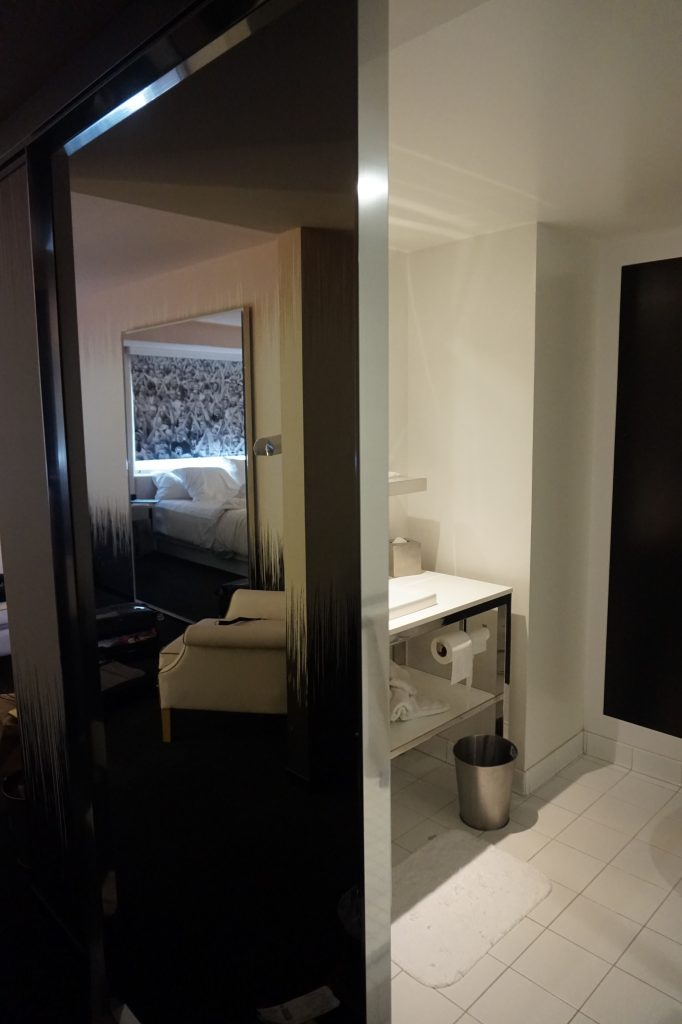 SLS World King Bathroom Door