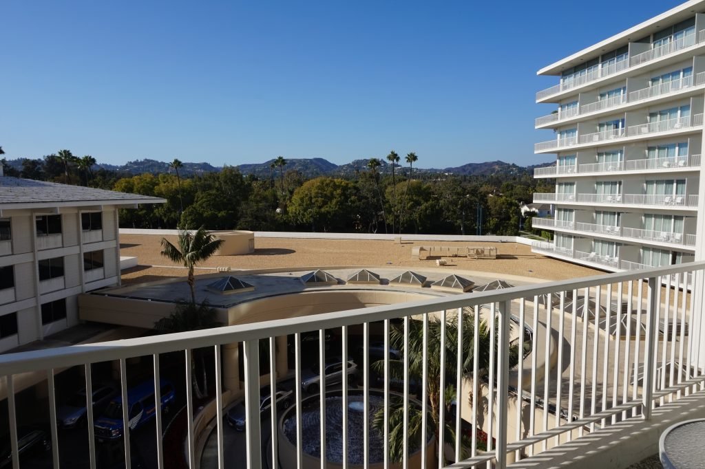 Beverly Hilton Balcony View