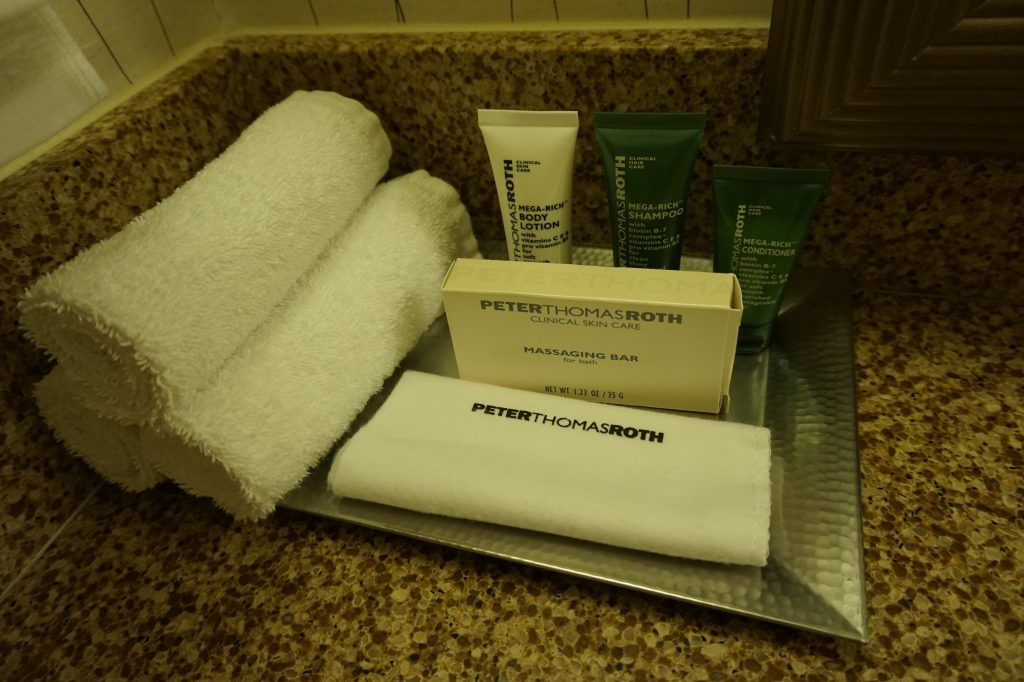 Hilton LAX Toiletries