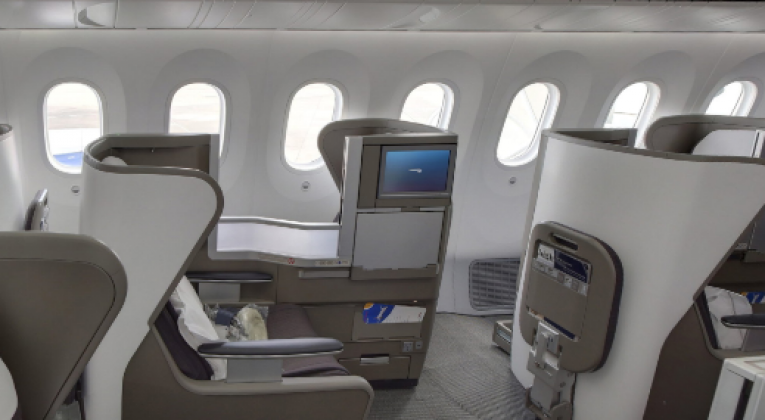 Boeing 787 9 Dreamliner Business Class With Ba At A