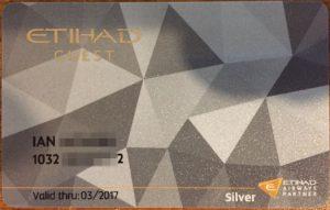 eithad silver card