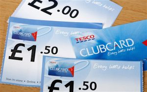 Tesco Clubcard Vouchers