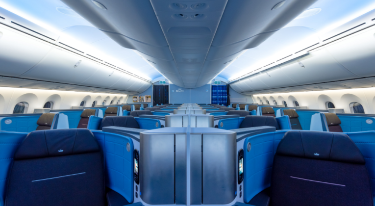 All KLM Business Class Long Haul Cabins (Finally!) Have Lie-Flat