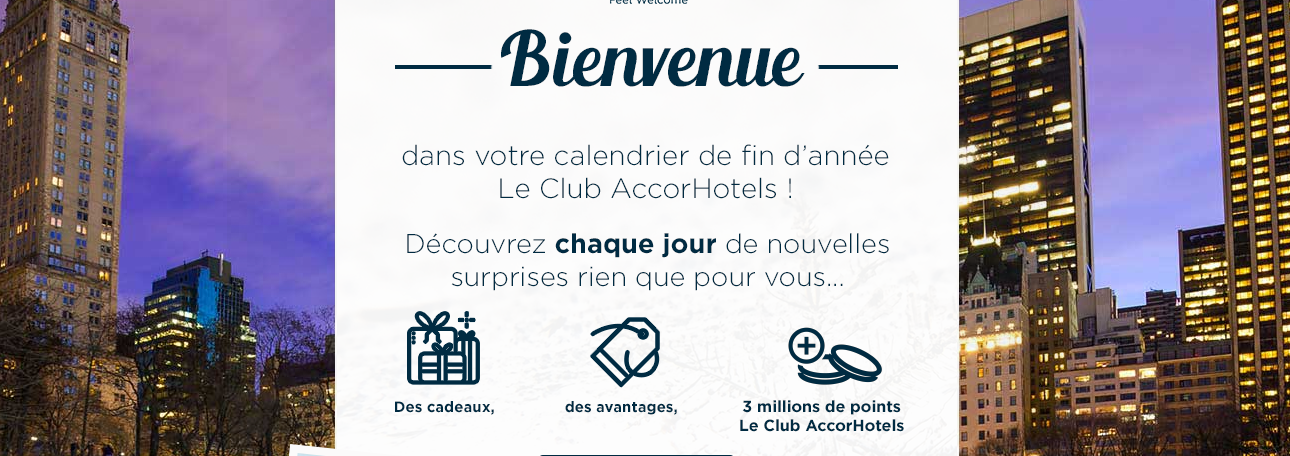 Accor Advent Welcome