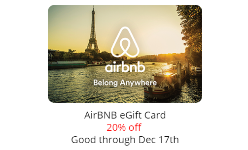 30 Airbnb Credit For New Users 20 Off Airbnb Gift Cards If You
