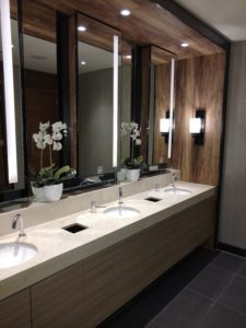 Plaza Premium Lounge Bathroom