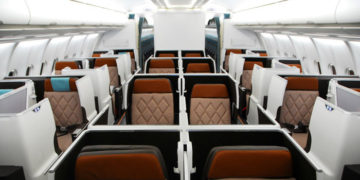 oman air new business class