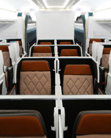 oman air new business class