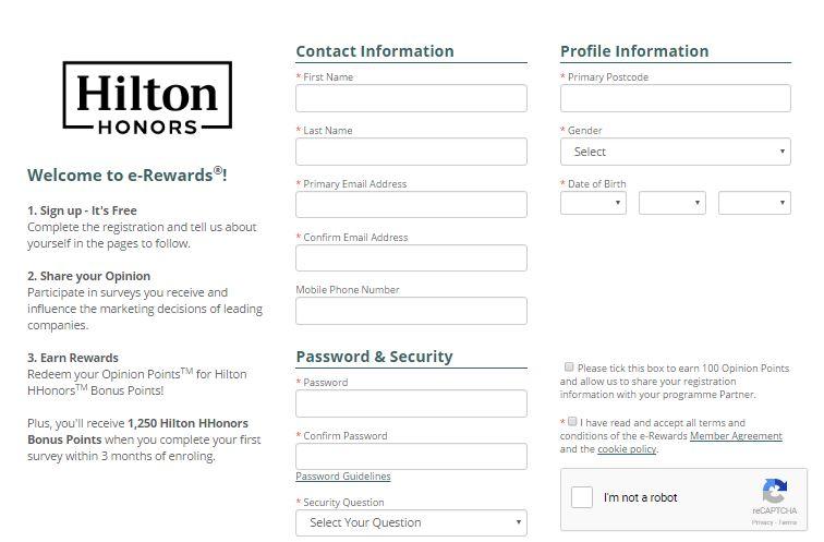 free hilton points 2017