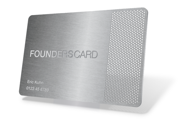 New founderscard benefit invitation codes