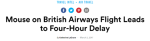 British Airways worse than Ryanair