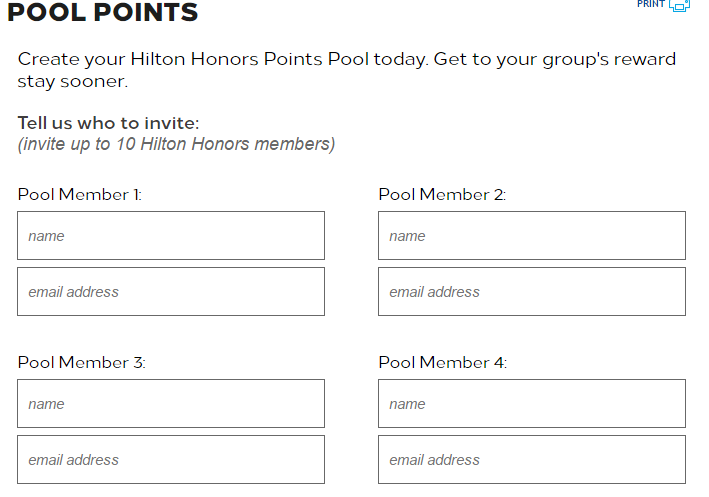 NEW) Share Hilton Points With Friends and Family Thanks to