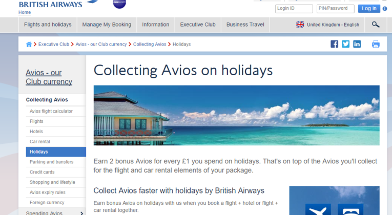 Save big money and earn bonus avios with british airways holidays save big money and earn bonus avios with british airways holidays reheart Image collections