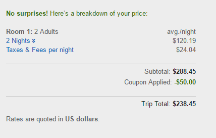 $50 Off $200 Hotel Spend With Expedia Discount Code (ACT FAST