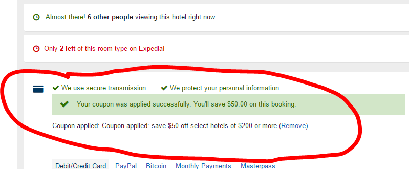 $50 Off $200 Hotel Spend With Expedia Discount Code (ACT