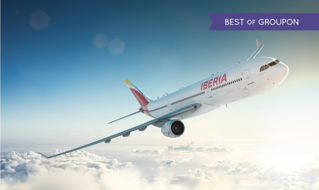 Iberia Plus and Groupon - an Indirect Way to Buy Avios Cheaply