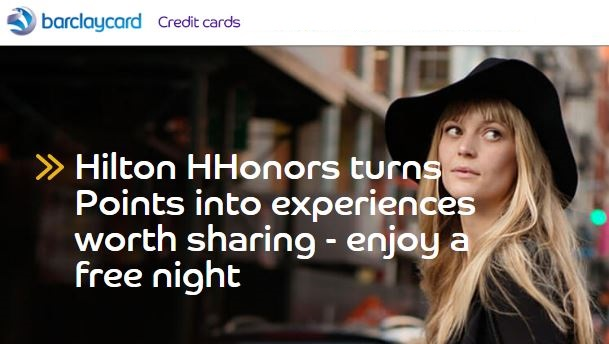 Hilton Free Night Certificate