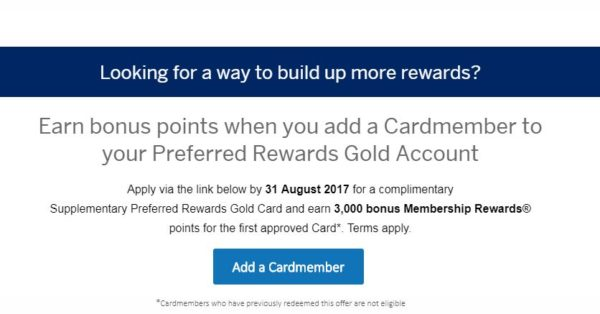 free amex points