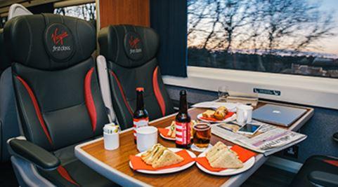 Virgin trains east coast first class sale insideflyer uk for Food bar on virgin trains