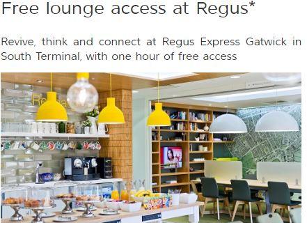 free lounge access