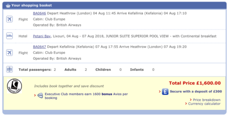 Clubcard Avios Competition