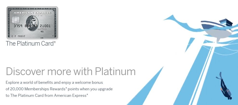 American Express Platinum upgrade