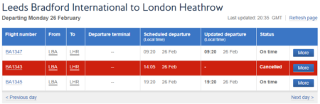 Check Your Flights Now! - BA Begins Proactive Cancellations Due to