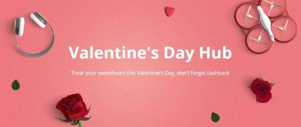 Valentines day cashback
