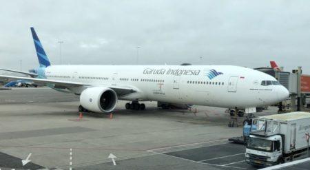 Garuda Indonesia Economy Class review