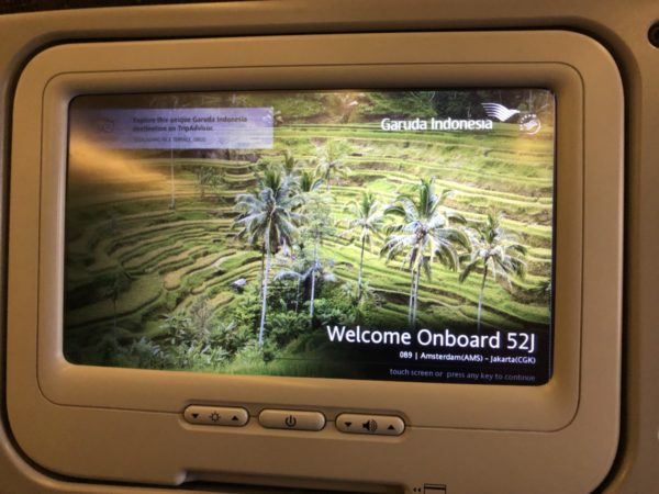 Garuda Indonesia Economy Class review
