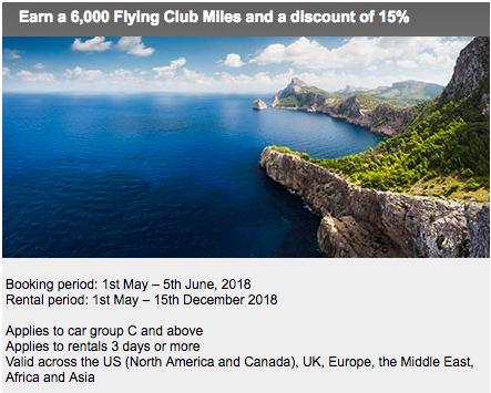 6 000 Virgin Miles And 15 Off Avis Car Hire Again Insideflyer Uk