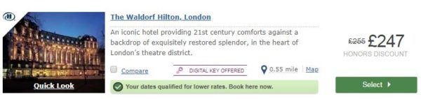 hilton offers
