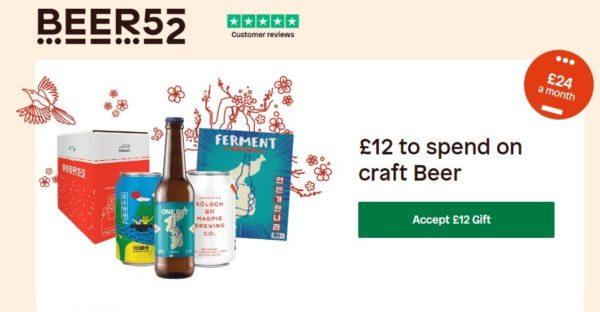 beer52 promo code