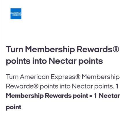 American express nectar