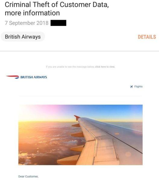 british airways court case