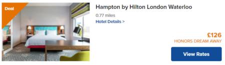 hilton key worker discount