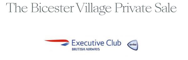 bicester village avios