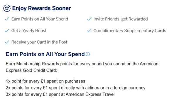 american express sign up bonus